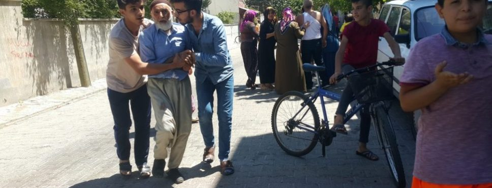 Kahta'da Baz İstasyonu Kurulumuna Tepki