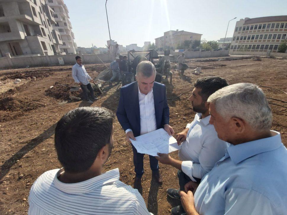 Kahta Belediye Başkanı Turanlı, Söz Verdiği Projeleri Yapmaya Devam Ediyor