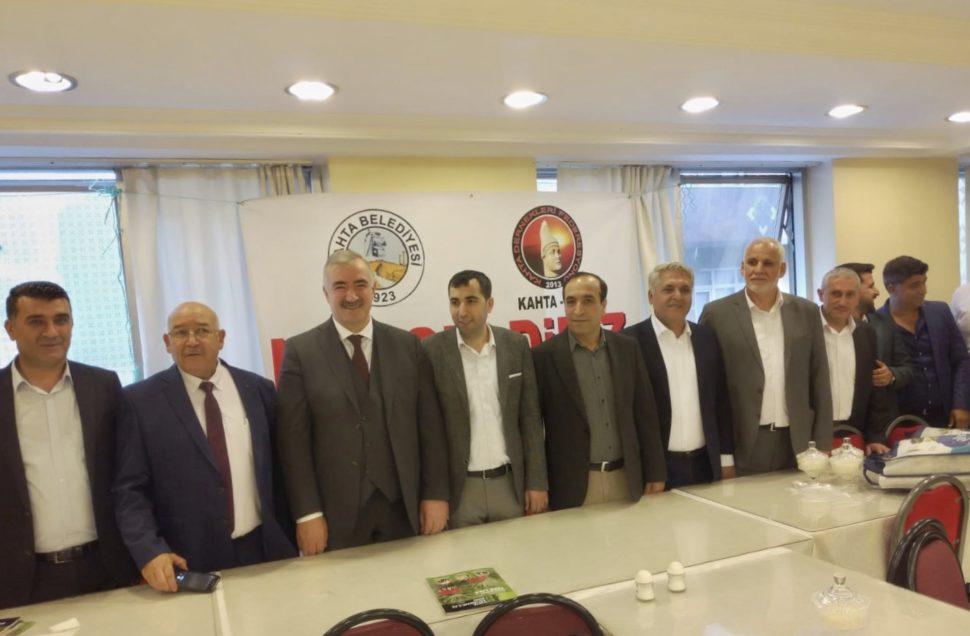 """DİNBİRDER Genel Başkanı Yıldırım """" İslam'da İttifak Ahlakı """" konulu konferans Kahtalılara seslendi."""