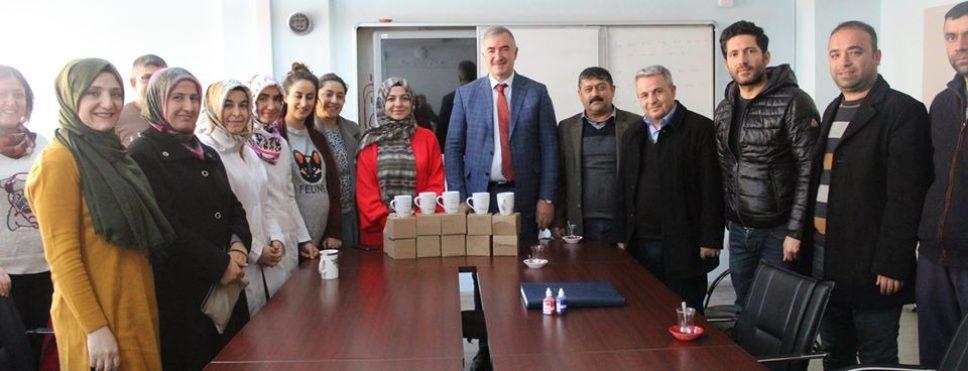 Başkan Turanlı, okul ziyaretlerine devam ediyor