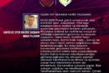 Kahta02 Spor Başkanı Yıldırım'dan Tarihi Çağrı