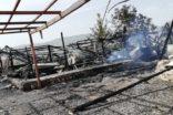 Tarihi Karakuş Tümülüsünde Korkutan Yangın!