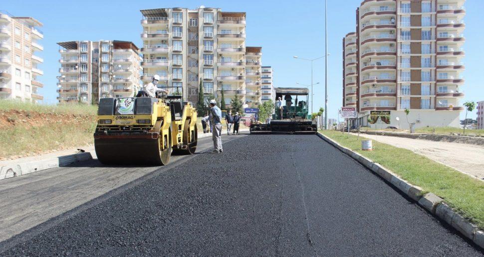 Kahta Belediyesi Asfaltlama Çalışmalarına Hızlı Başladı
