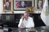 Başkan Turanlı, ilçeye bağlı köy ve mahalle muhtarları tek tek aradı.