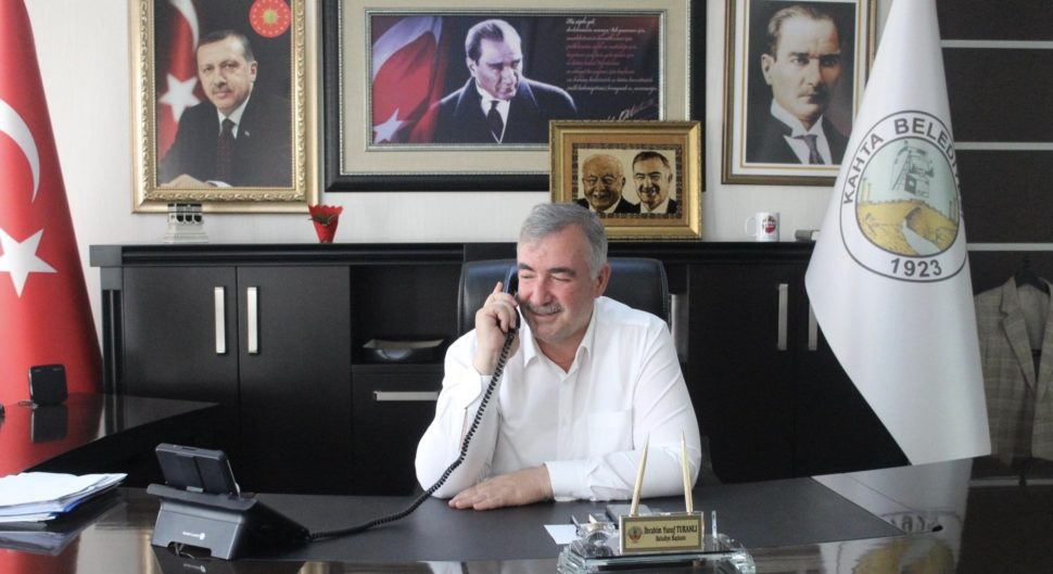 Başkan Turanlı Hastaneye Kaldırıldı.