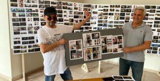Ünlü Oyuncu Aydan Çakır, 41. sanat yılında İlk Fotoğraf Sergisini Kahta'da Açtı