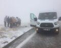 Nemrut Dağına ilk Kar Düştü.