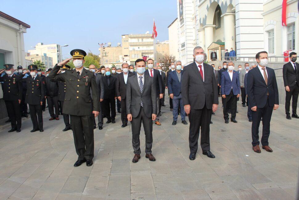 Mustafa Kemal Atatürk Kahta'da Anıldı.
