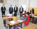 Müdür Tunçmen, Okullarda İncelemelerde Bulundu