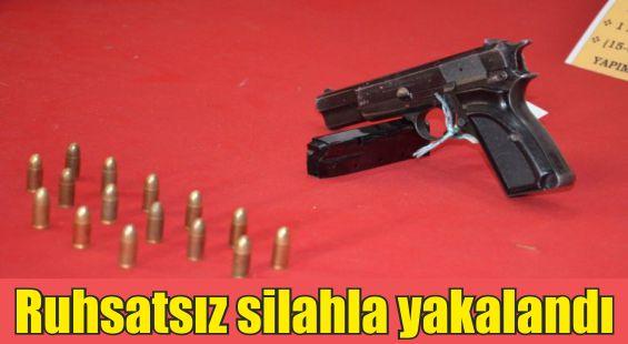 Kahta Asayiş Büro Amirliği Yapılan Aramada Bir Silah Ve Uyuşturucu Ele Geçirdi