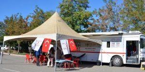 Adıyaman Üniversitesi Öğrencilerinden Kan Bağışına Destek
