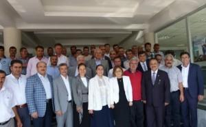 Fatma Şahin Ve Ekrem Pakdemir Kahta Belediyesini Ziyaret Etti