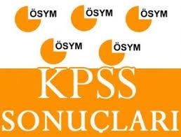 ÖSYM – KPSS Sonuçları Açıklandı
