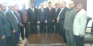 Muhtarlardan Vali Demirtaş'a Teşekkür Ziyareti