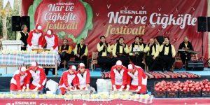 İstanbul'da Adıyaman'lıların Esenler Nar ve Çiğköfte Festivali