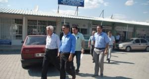 SGK Yetkilileri Belediyenin Arsasını İnceledi