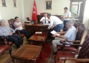 Kahta Gazeteciler Cemiyeti Vali Demirtaş'ı Ziyaret Etti